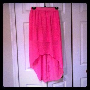 Girls hi-low skirt size 3-5